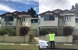 Timber Home Painting in Brisbane